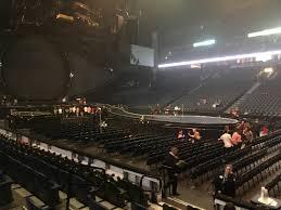 Bridgestone Arena 3d Concert Seating Chart Bridgestone Arena Section 117 Concert Seating