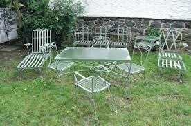 wrought iron patio furniture wrought iron garden tables used