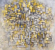 de stijl painting tableau 2 composition vii by piet mondrian
