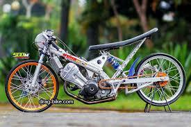44 foto gambar modifikasi honda sonic drag bike thailand thailook