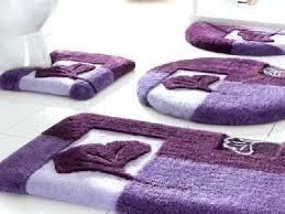 purple bathroom sets rug set with round bath rugs uk purple bathroom