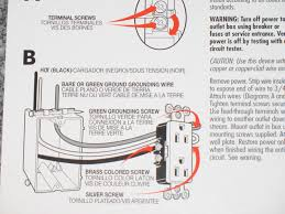 careful these outlet wiring instructions are wrong now