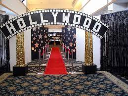 hollywood theme decorations ideas