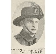 Archibald Frederick McGill   Discovering Anzacs   National ...