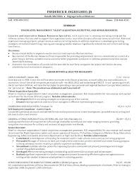 Human Resource Resume Objective Best of Human Resource Specialist Resume Cover Letter Examples For Human