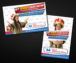 Tax Flyer Design Modern Conservative Accounting Flyer Design For Tax Refund