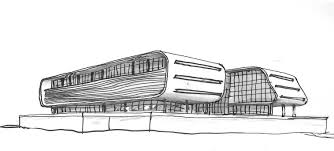 architectural building sketches. Architect Buildings Sketches Style Simple Architectural And Sketch Of Modern Building D