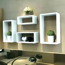 corner shelves wall mount zigzag shelf unit mounted pine