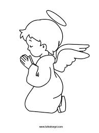 Disegni Natale Angelo Da Colorare Tuttodisegnicom ангелы