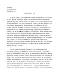 rashomon final essay