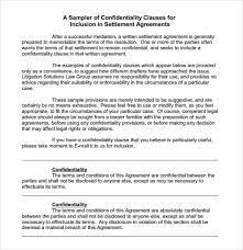 3 Confidentiality Statement Templates Word Excel Sheet Pdf