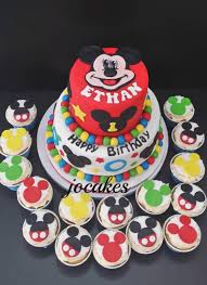 Mickey And Minnie Mouse Birthday Cake Ideas