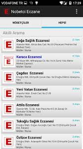 Nöbetçi Eczane pour Android - Téléchargez l'APK