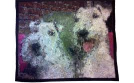 Learn How To Make Photo Quilts | Art Quilts with Tammie Bowser ... & Winston & Rocky Adamdwight.com