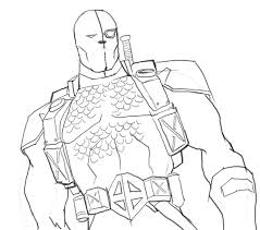 Small Picture How to draw DeathStroke drawing and digital painting tutorials