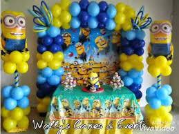 minions birthday theme party