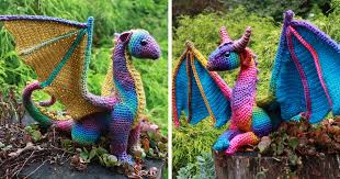 Crochet Dragon Pattern