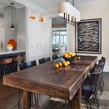 Rustic kitchen table with bench Vintage Raw Wood Dining Table Design Pictures Remodel Decor And Ideas Page 9chairs Pinterest Raw Wood Dining Table Design Pictures Remodel Decor And Ideas