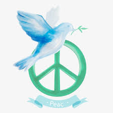 vector anti war logo peace dove hand painted olive branch png and