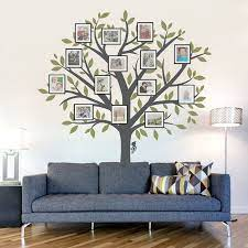 large family tree wall decal family