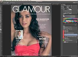 photoshop magazine cover template. Designing Editing a Magazine Cover in Photoshop YouTube