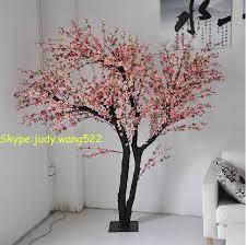 2014 sj at069 high quality artificial peach cherry blossom tree