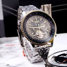 jaragar automatic self winding mechanical wrist watches men jaragar automatic self winding mechanical wrist watches men analog display stainless strap luxury design