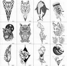 Vankirs декорации для тела рук татуировки временные для женщин сова