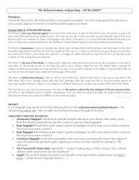 conflict essay outline doc the alchemist literary analysis essay