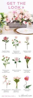 get the look pink peach artificial flower centerpiece