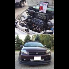 all motor built d16 vs turbo scion tc