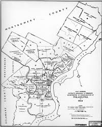 Map showing the municipalities in philadelphia county in which were absorbed into the city of philadelphia under the pennsylvania legislature's act of