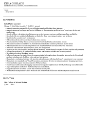 Resume For Sales Associate Sales Associate Resume Sample Velvet Jobs 30
