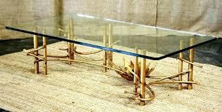 gold bamboo coffee table gold bamboo coffee table vintage chair lane faux bench white side chairs gold bamboo coffee table