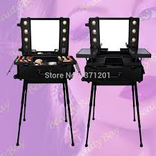 box with mirror black to europe india uk black lighted makeup table with lights and