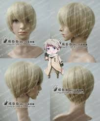 ANIME wigs IVAN Powers Hetalia APH RUSSIA SHORT BROWN COSPLAY WIG+FREE WIGS  CAP | eBay