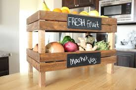 fruit veg stand