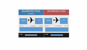 16 Real Fake Boarding Pass Templates 100 Free