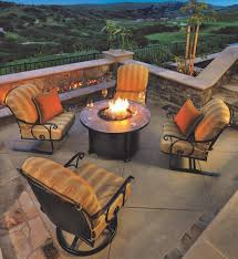 patio furniture and fire pit by ow lee from nashville billiard patio
