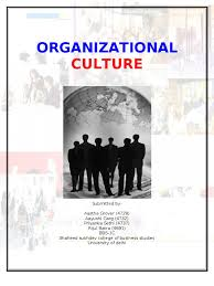 essay on organisational culture by sander kaus organizational organization culture