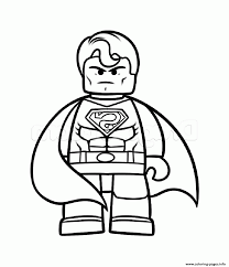 Push pack to pdf button and download pdf coloring book for free. Superman Vs Batman Lego Coloring Pages Printable