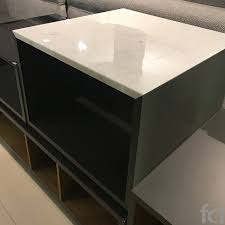 dab with marble top coffee table by