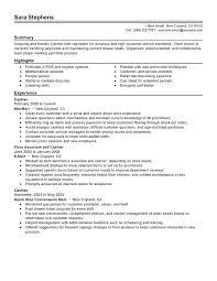 Teller Resume Examples Resume Examples For A Cashier Head Teller ...