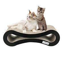 cat scratcher lounge. IsYoung Cat Scratcher Lounge Corrugated Cardboard Protector For Furniture Couch Floor Eco-friendly U