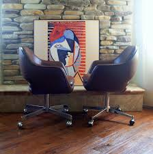 Office Chairs With Arms And Wheels 1979 Saarinen For Knoll Executive Arm Chair Iconic Mid Cen Flickr