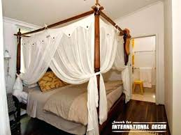 Canopy Drapes Poster Bed Canopy Curtains Sweet Ideas Four Poster Bed ...