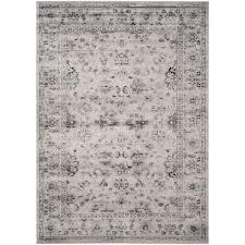 safavieh vintage grey ivory 8 ft x 10 ft area rug