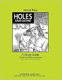 holes novel ties study guide louis sachar 9780767509046 amazon books