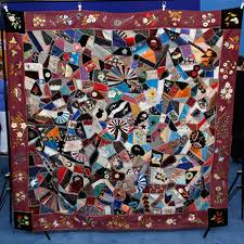 My Pretty Baby Cried She Was a Bird: (Crazy about) Crazy Quilts ... & I did some reading up on the history of the crazy quilt and found that its  popularity dates to the 1876 Philadelphia Centennial Exposition, ... Adamdwight.com