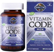 garden of life vitamin code men s multi 120 caps